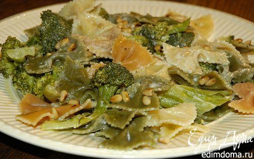 Рецепт Салат из макарон с брокколи