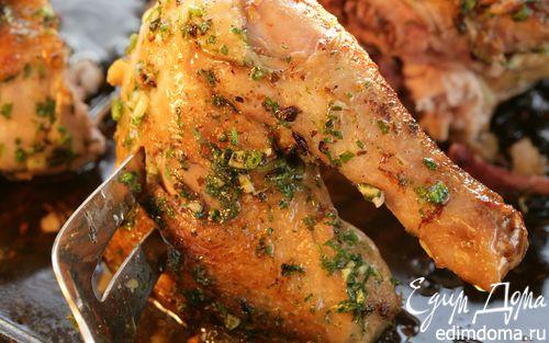 Рецепт Цыпленок с чесноком