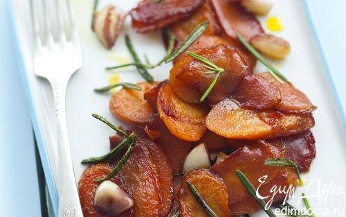 Рецепт Молодая морковь с чесноком