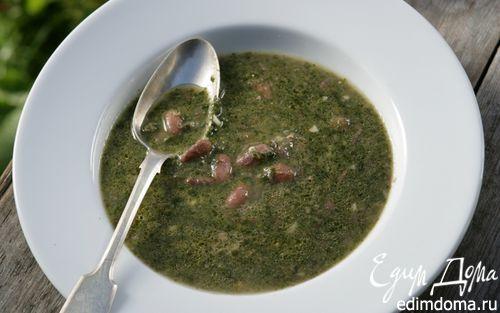 Рецепт Суп со шпинатом