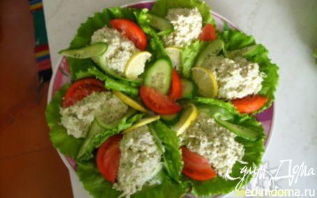 Рецепт салат из криля
