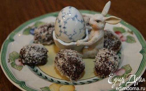 Рецепт Пасхальные шоколадные яйца