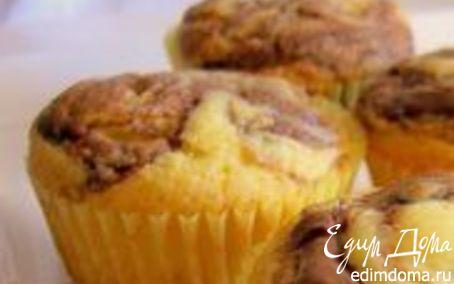 Рецепт Кексы с ореховой пастой Nutella