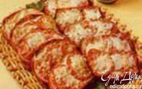 """Рецепт """"Тартинки с помидорами и сыром"""""""