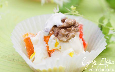 Рецепт Цукаты в белом шоколаде с грецкими орехами