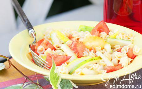 Рецепт Салат с пастой и овощами
