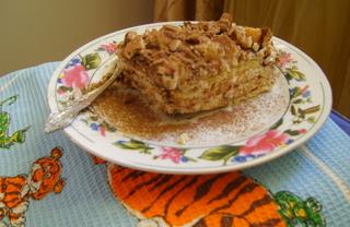 Рецепт Творожный торт с орехами по-немецки