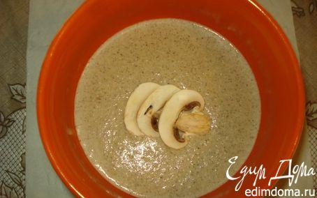 Рецепт Крем суп из шампиньонов