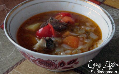 Рецепт шурпа (узбекский луковый суп)
