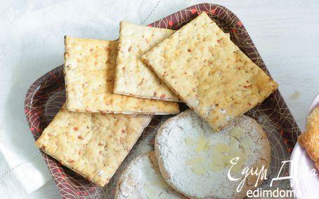 Рецепт Печенье из слоеного теста с орехами и цукатами