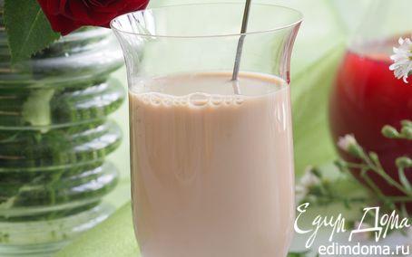 Рецепт Чай с молоком и листьями малины