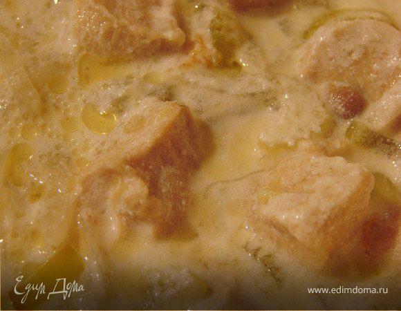 Бельгийский сливочный суп