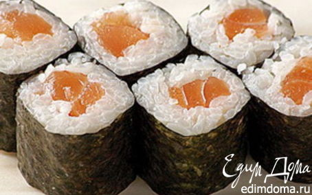 Рецепт Роллы с лососем
