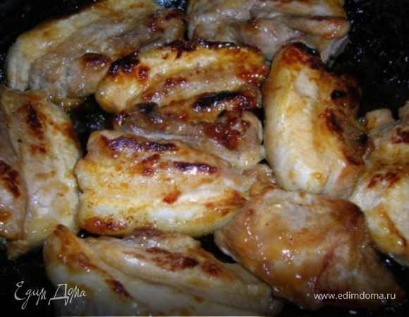 Свинина маринованная в не обыкновенным соусе