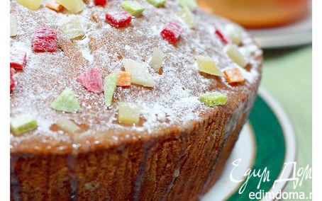Рецепт Кекс с маком и лимонной глазурью