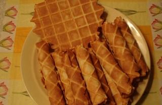 Рецепт Вафли в вафельнице