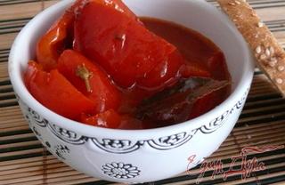 Рецепт Сладкий перец в томате