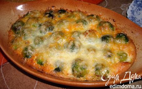 Рецепт Овощная запеканка с брюссельской капустой