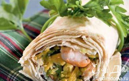 Рецепт Сэндвич в мексиканском стиле