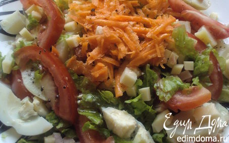 Рецепт Парижский салат
