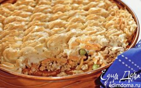 Рецепт Пастуший пирог из картофеля