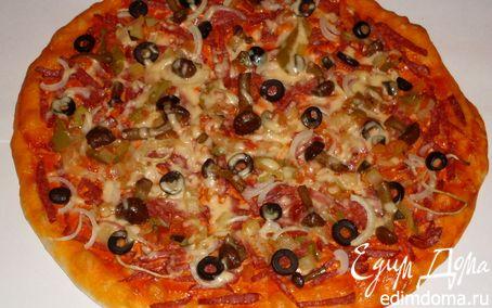 Рецепт Пицца для друзей