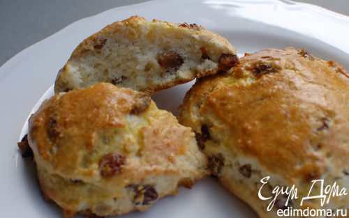 Рецепт Английские сливочные булочки к чаю