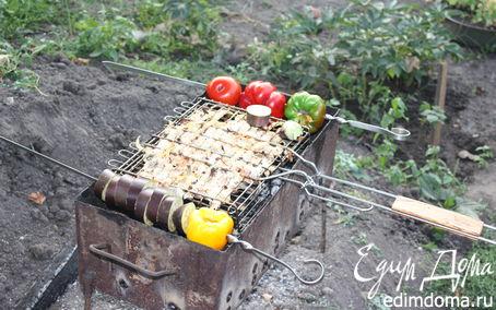 Рецепт Шашлыки и овощи на гриле