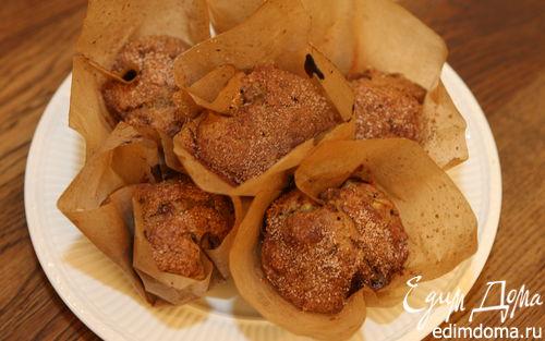 Рецепт Кексы с ревенем