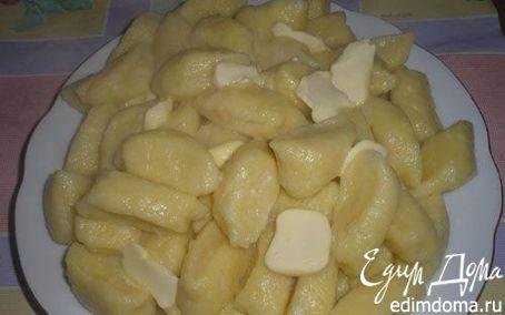 Рецепт Вареники с соленым творогом