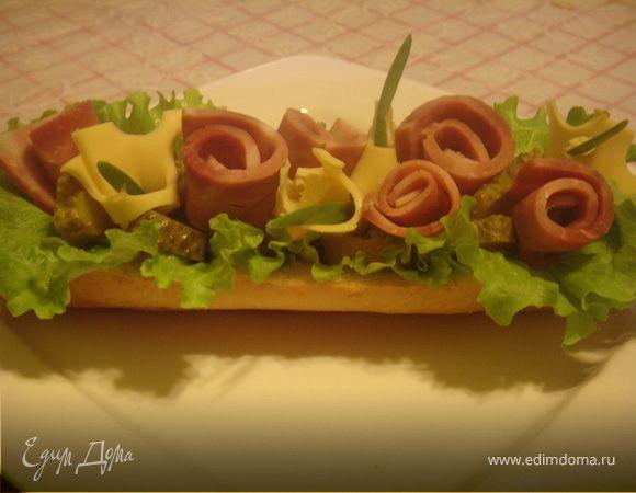 Бутерброд - великан