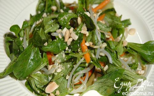 Рецепт Тайский салат с арахисом