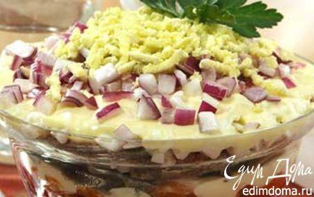 Рецепт Салат слоеный