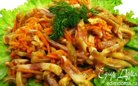 Рецепт Свиные ушки по - корейски