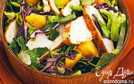 Рецепт Куриный салат со сливами