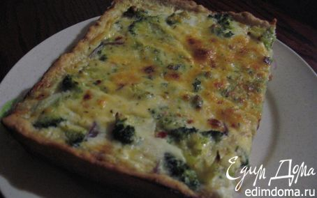 Рецепт Пирог с брокколи