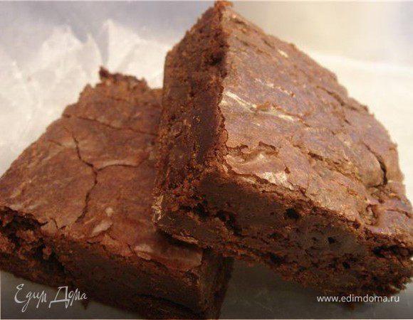 Легкие шоколадные брауни