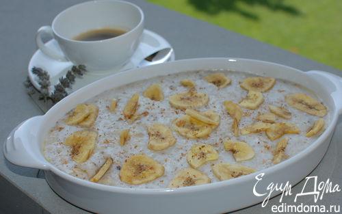 Рецепт Рисовая каша с бананами и мускатным орехом