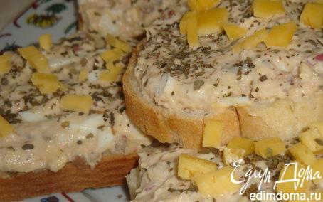 Рецепт Флотские бутербродики