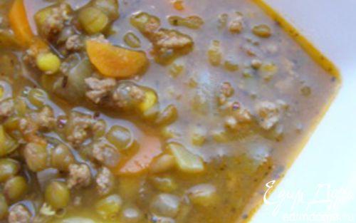 Рецепт Суп-гуляш с чечевицей