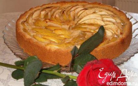 Рецепт Цветаевский яблочный пирог