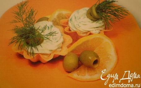 Рецепт Корзиночки с сыром
