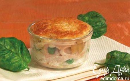 Рецепт Запеканка из курицы с креветками