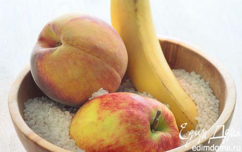 Рецепт Рис с фруктами в пароварке