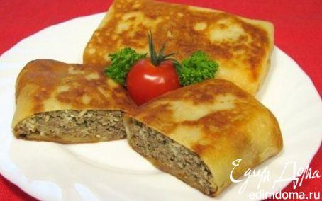 Рецепт Блинчики,фаршированные печенью