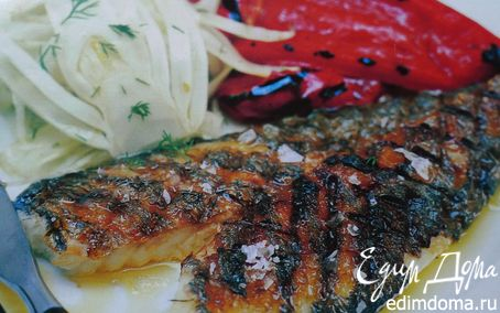 Рецепт Рыба с чесноком и фенхелем