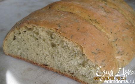 Рецепт Хлеб с зеленью