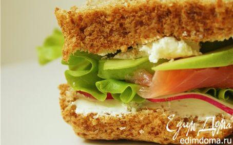 Рецепт Вкусный сэндвич