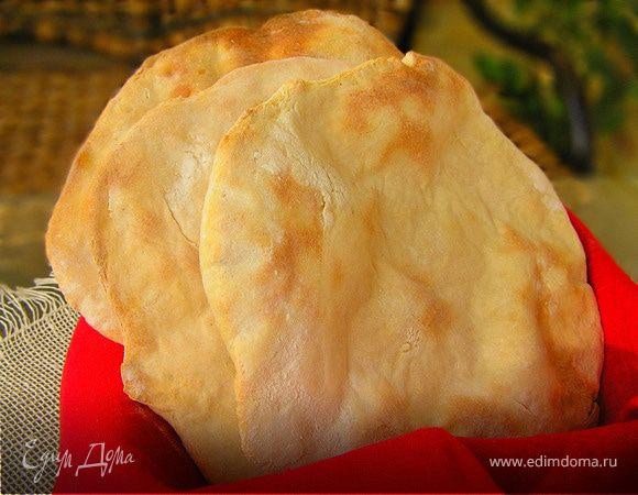 Хлебные лепешки карасау (carasau)