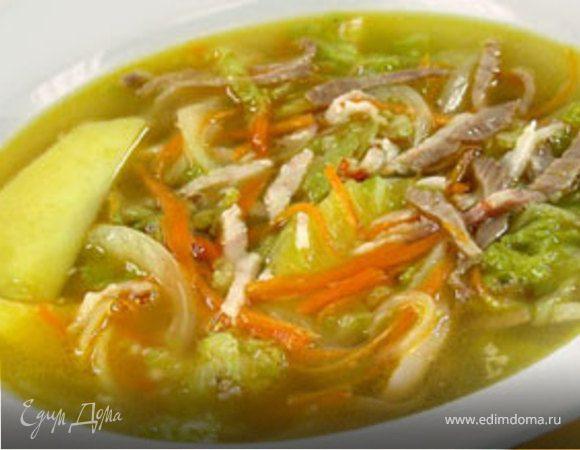 Суп с капустой рецепт с фото